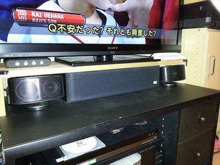 テレビスピーカー
