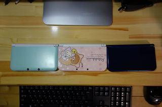 3DS 3台 蓋閉じ