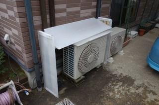 エアコン室外機カバー1