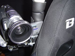 カメラ上部固定