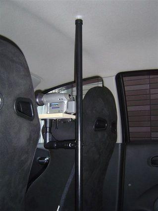車載時の天井