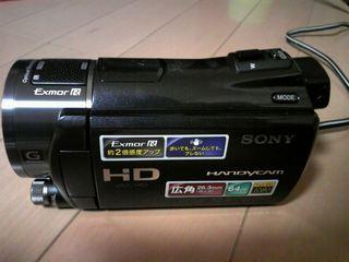 HDR-CX550V 本体
